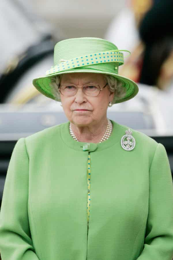 The Queen at Trooping the Colour in 2007