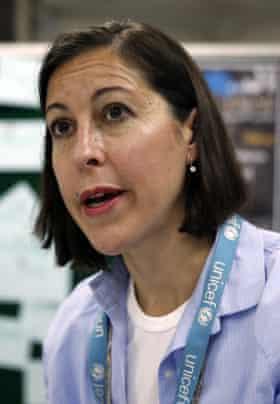 Meritxell Relaño, Unicef's deputy representative in Yemen