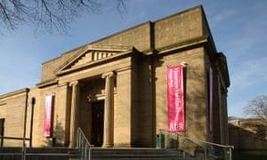 Blade stunners: the Weston Park museum.