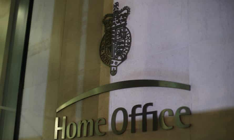 Brass 'Home Office plaque