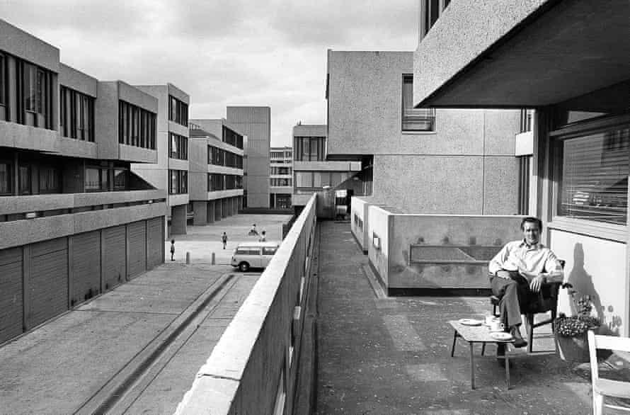 Lensbury Way, Thamesmead, 1970.