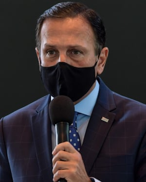 Doria announced on 12 August he tested positive for Covid-19 but had no symptoms