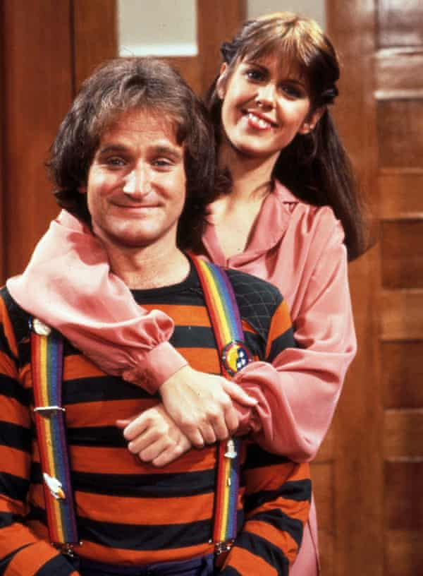 'I really loved Robin and Robin really loved me.' Mork & Mindy, 1980.