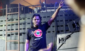 Your fitness instructor … Denzel Curry
