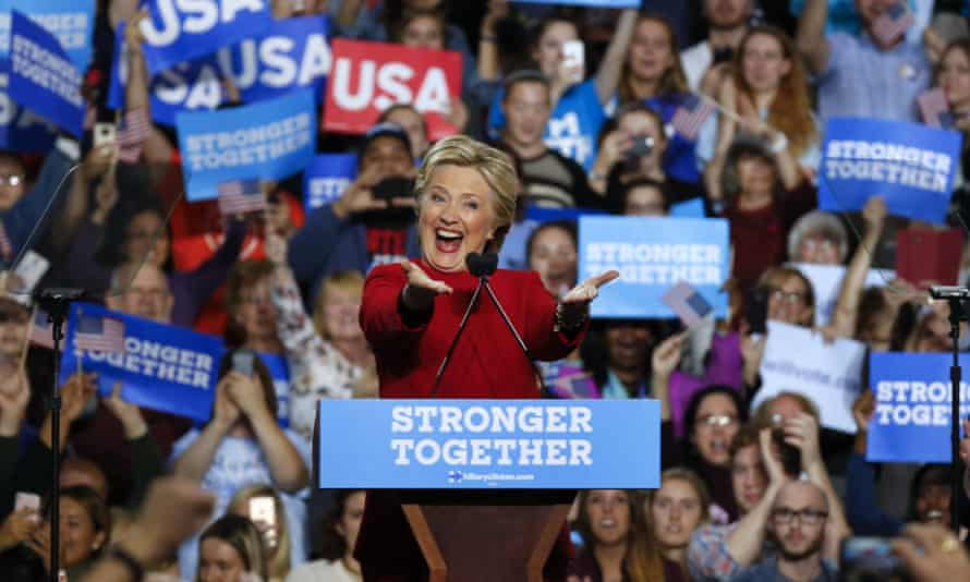 Hillary Clinton's slogan turned out not to be so strong.