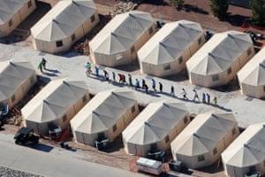 Tornillo, USA Immigrant children