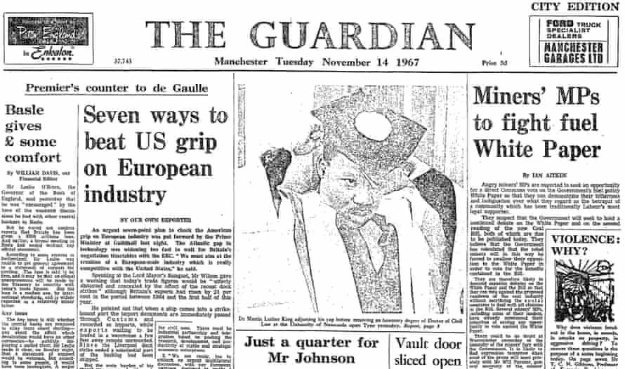 The Guardian, 14 November 1967.