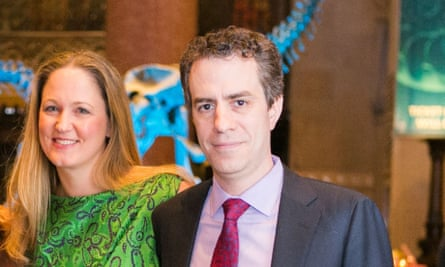 Noah Kotch with his wife Gena.