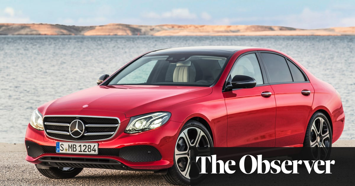 Mercedes-Benz E-Class saloon: car review | Martin Love | Technology