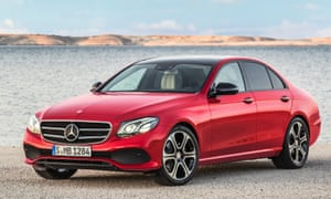 Red arrow: the 10th generation E-Class takes yet another step towards perfection…