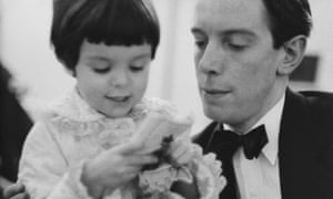 'Not exactly traditional' … Tracy Tynan with her father, Kenneth.