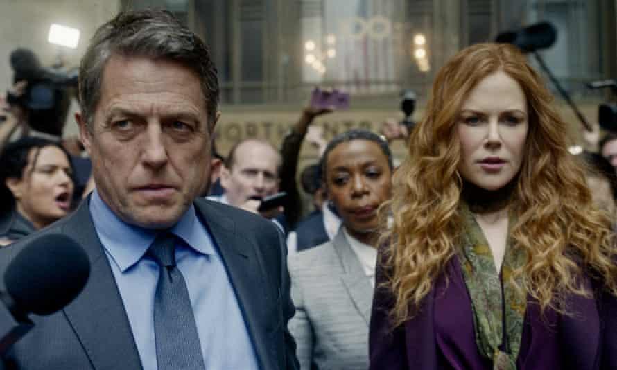 Devastating charm ... Hugh Grant and Nicole Kidman in The Undoing.