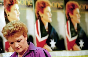 Pauline Hanson in 1998
