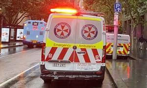 A NSW ambulance