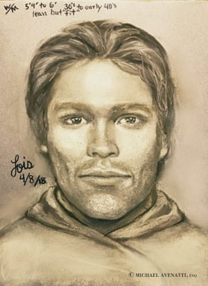 This artist's drawing released by attorney Michael Avenatti.