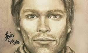 This artist's drawing released by attorney Michael Avenatti, purports to show the man that the adult film actor Stormy Daniels says threatened her in a Las Vegas parking lot in 2011 to remain quiet about her affair with President Donald Trump.