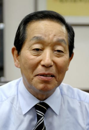 Sim Jae-duck, South Korea's leading sanitation activist and head of the Korea Toilet Association, in October 2007