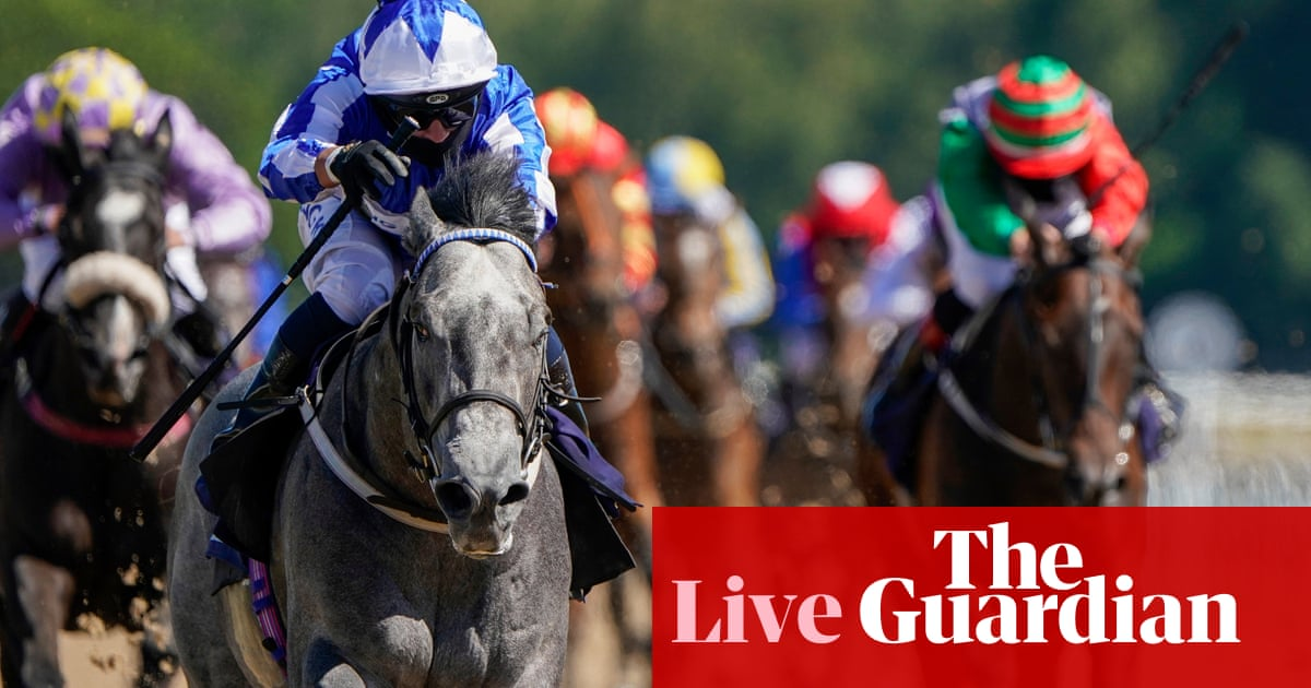 UK racing returns, plus Victor Ludorum wins the French 2,000 Guineas – live!