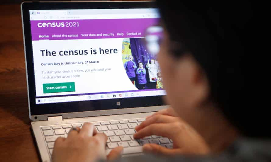 At least 30,000 field staff were hired across England and Wales as part of the census efforts.