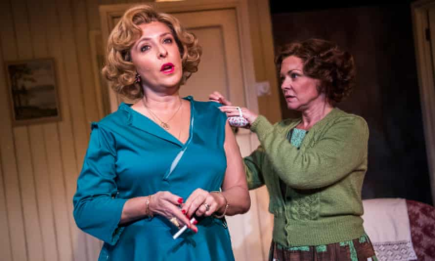 Tracy-Ann Oberman (Helen Kroger) and Finty Williams (Barbara Jackson) in Pack of Lies