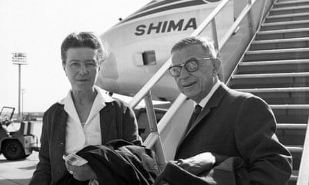 Romantic levity … Simone de Beauvoir and Jean-Paul Sartre in 1967. Photograph: Sipa Press/Rex Features