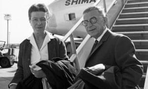 Simone de Beauvoir and Jean-Paul Sartre