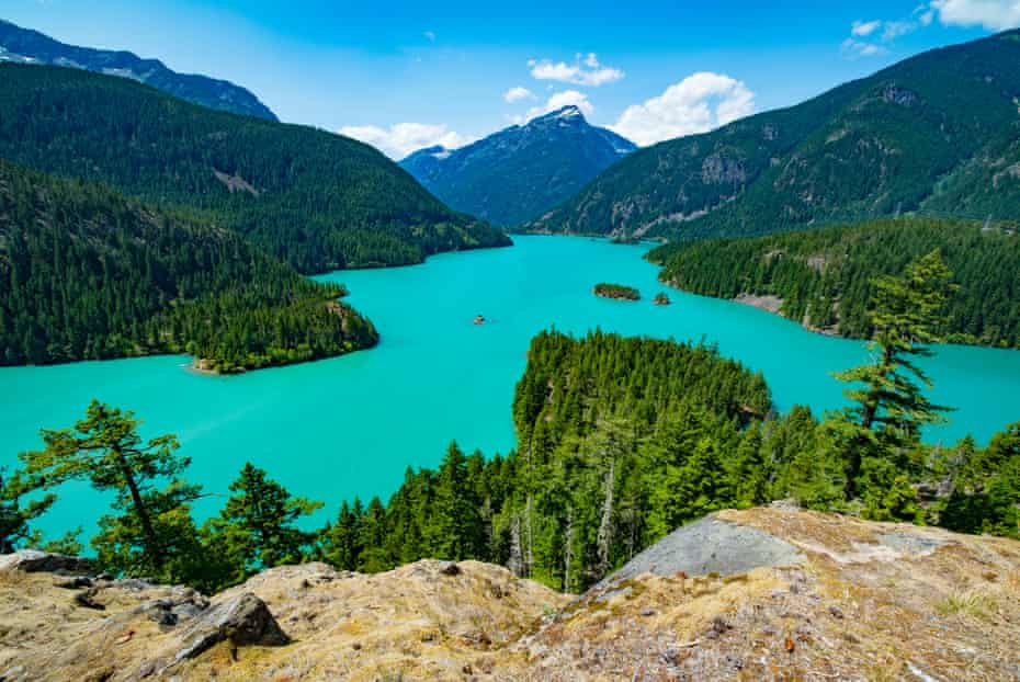 Lake Diablo in the North Cascades, Washington