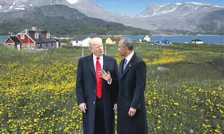 Is Trump's deep fear and envy of Obama behind his plan to purchase Greenland?