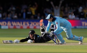 England win the Cricket World Cup, Lord's 14 July 2019