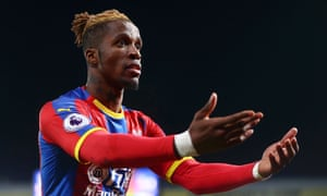 Arsenal's £40m bid for Wilfred Zaha is said to have incensed Crystal Palace, who value him at more than double that.