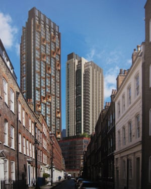 The new view in Elder Street, Shoreditch, if the Bishopsgate Goodsyard development is approved.
