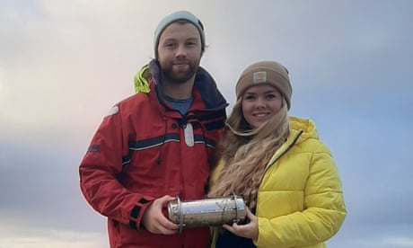 Arctic time capsule from 2018 washes up in Ireland as polar ice melts