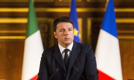 Prime minister Matteo Renzi said headteacher Marco Parma was making 'a very big mistake' by cancelling Christmas at his school.