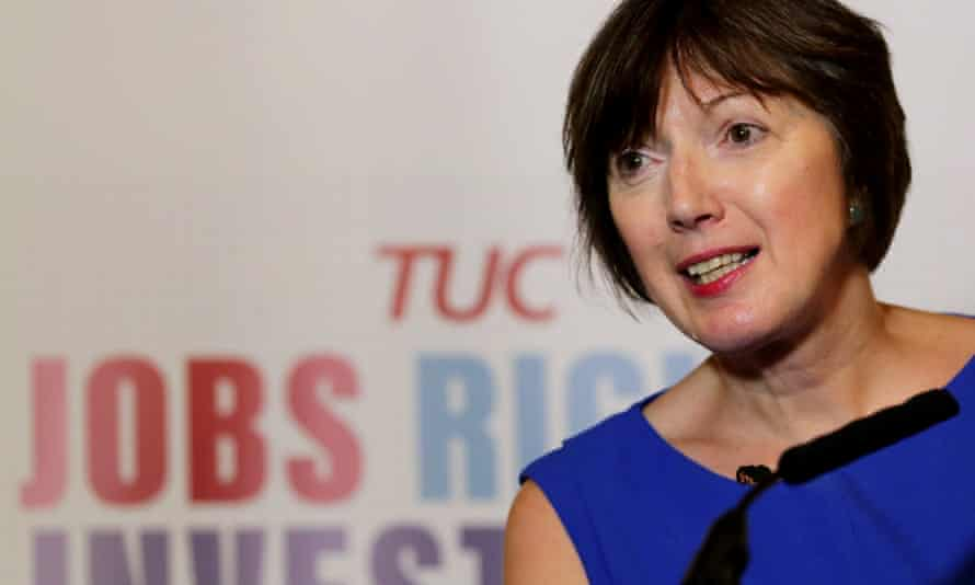 TUC general secretary Frances O'Grady says black, Asian and ethnic minority workers are being forced into low-paid, insecure roles.