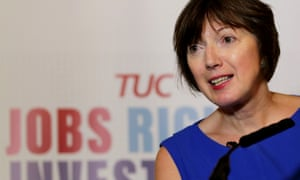 Frances O'Grady, the TUC general secretary.