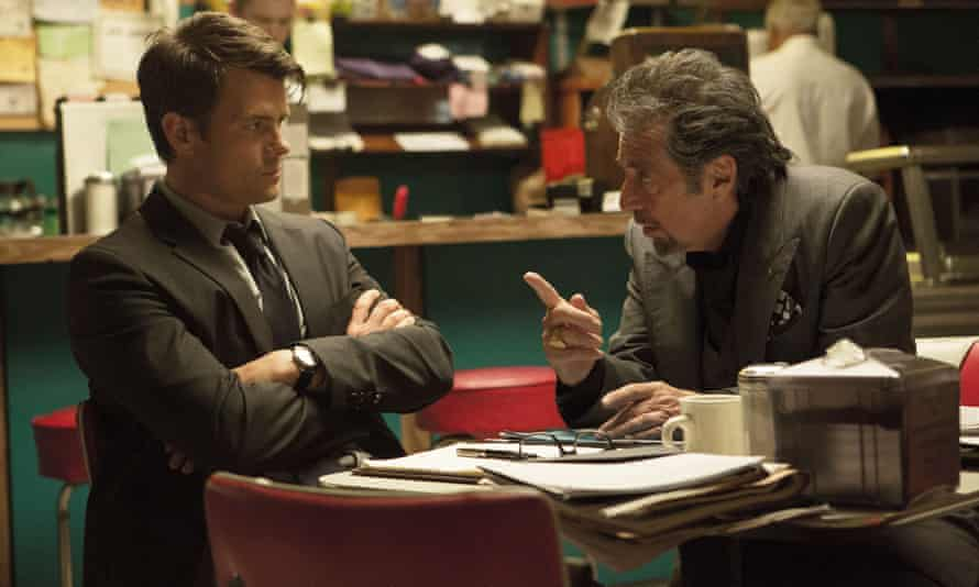 Scent of a flop ... Josh Duhamel and Al Pacino in Misconduct.
