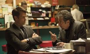 Al Pacino and Josh Duhamel in Misconduct.