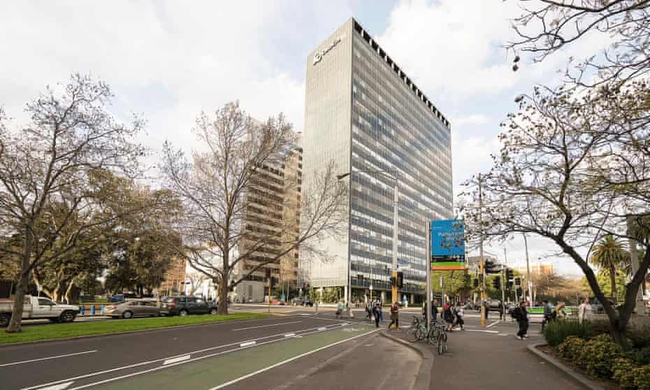 Orica House on Melbourne's Eastern Hill as it looks today.