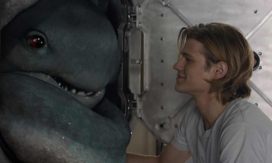 Lucas Till in Monster Trucks, a film with a warm, silly heart.