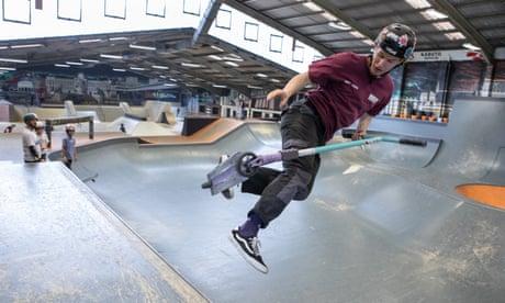 Dreams set to crash as young Olympians' skatepark closes