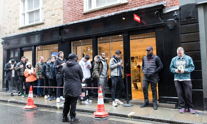 Image result for customers queuing in-store event