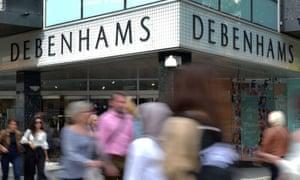 Debenhams in Oxford Street, London
