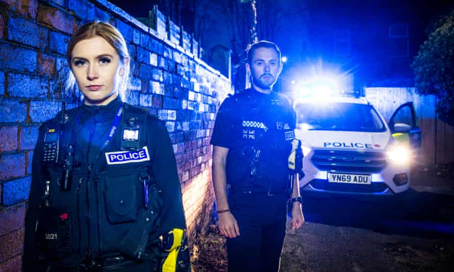 Sophie Minto and Michael Patton in 999: What's Your Emergency?