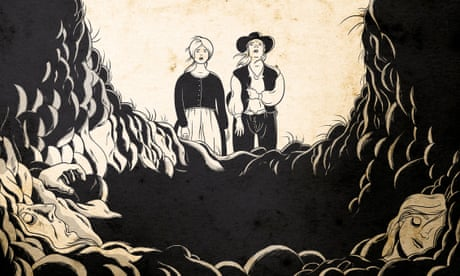 A comic for Covid-19: the tale of a plague-hit Derbyshire village