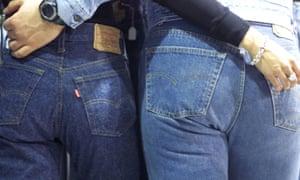 Levi's 501 jeans.