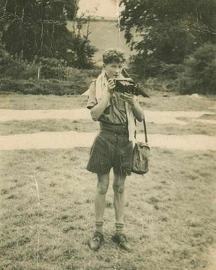 Peter O'Toole as a boy.