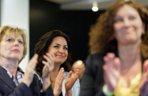 Anna Soubry and Heidi Allen on the campaign trail.