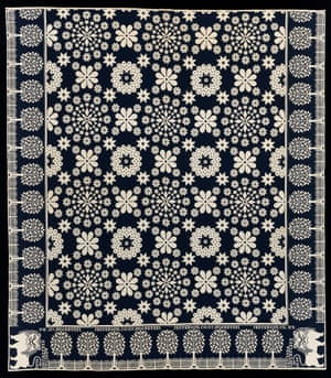 Coverlet, 1839, Jefferson County, New York by Harry Tyler (American, 1801–1858)