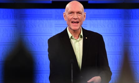 Singer of Midnight Oil and former Labor environment minister Peter Garrett said if Bill Shorten wins the 18 May Australian federal election, he should call for bipartisan action on climate change.