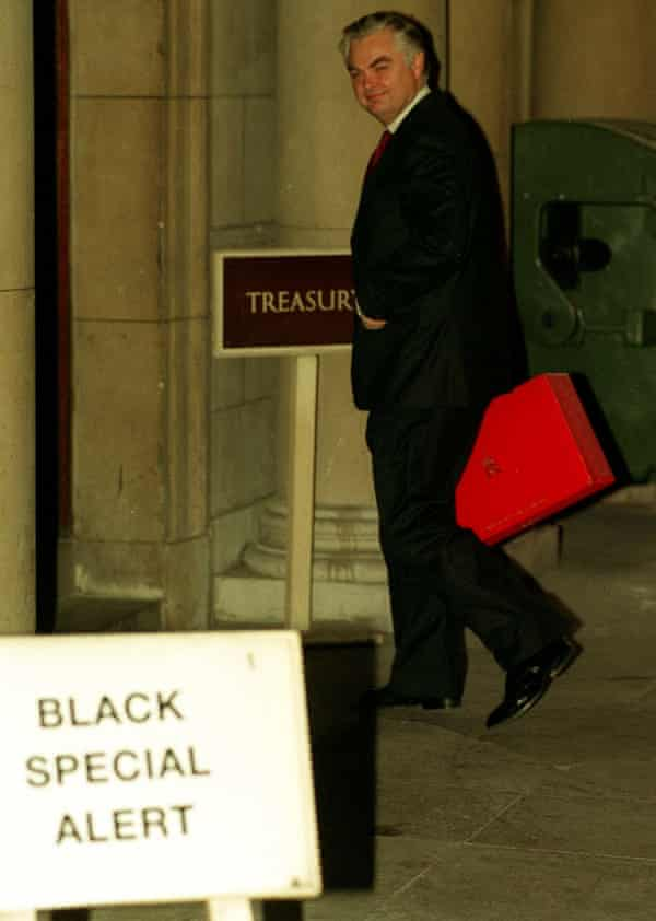 Chancellor of the exchequer Norman Lamont arriving at the Treasury on Black Wednesday.